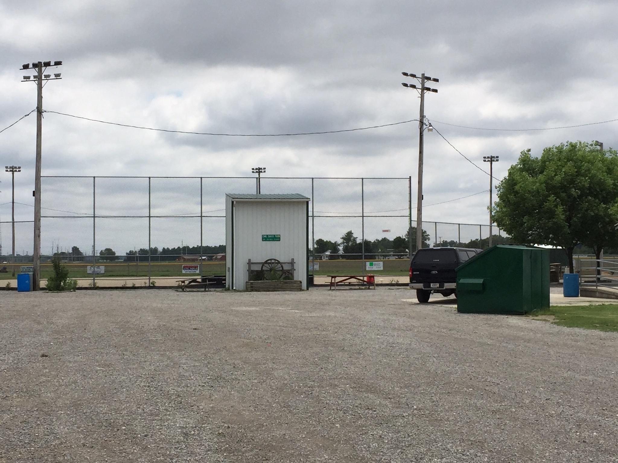 Emil Davis Park Baseball Lot
