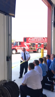 Fire Department Ribbon Cutting