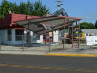 Abandoned gas station removal